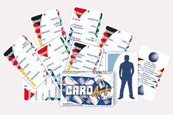 Kartenspiel Card Art - Foto von Adlung Spiele