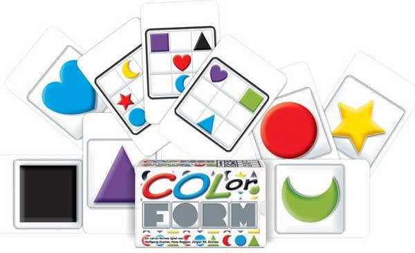 Kartenspiel Col-Or-Form - Foto von Adlung Spiele