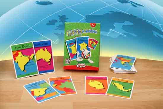 Gesellschaftsspiel Geocards - Foto von Amigo Spiele