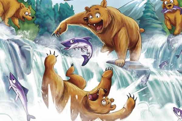 Grizzly - Ausschnitt - Foto von Amigo Spiele