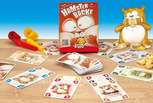 Hamsterbacke - Kartenspiel - Foto von Amigo Spiele