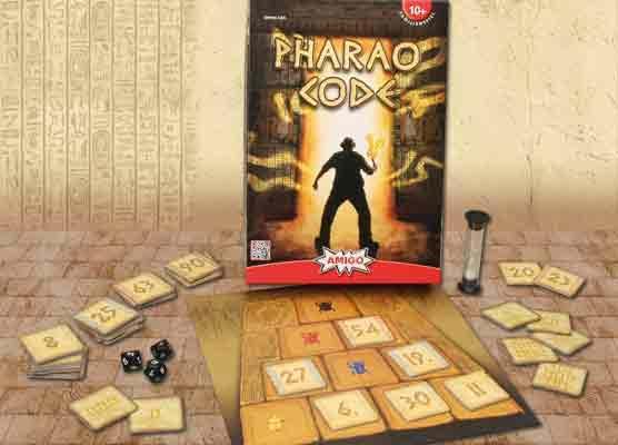 Spiel Pharao Code - Foto von Amigo Spiele