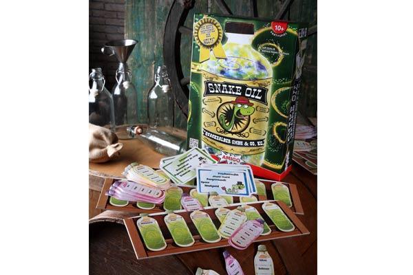 Gesellschaftsspiel Snake Oil - Foto von Amigo Spiele