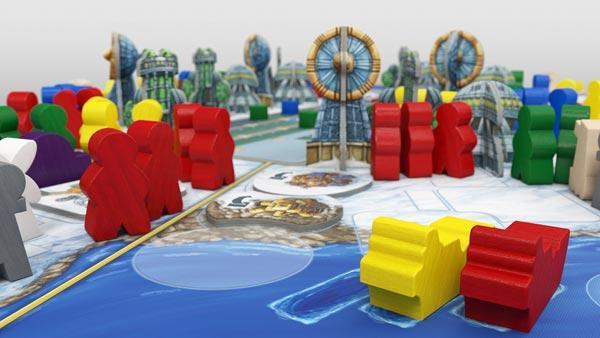 Brettspiel Antarctica - Foto von Argentum Verlag