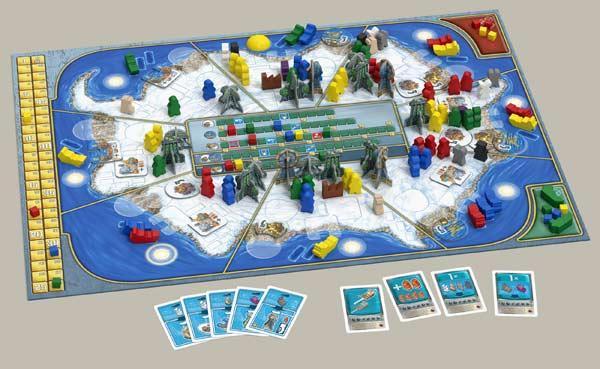 Antarctica Spielaufbau - Foto von Argentum