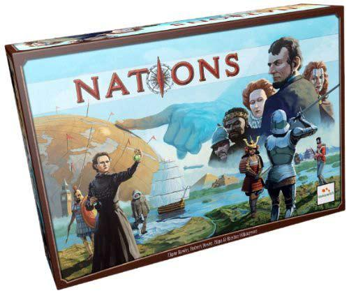 Strategiespiel Nations - Foto von Asmodee