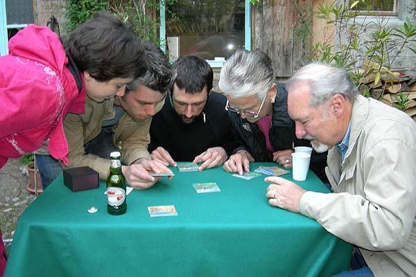 Christophe Boelinger und unter andererem Wolfgang Kramer spielen What's Missing - Foto von Christoph Boelinger