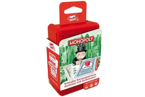 Monopoly Deal Shuffle - Foto von ASS