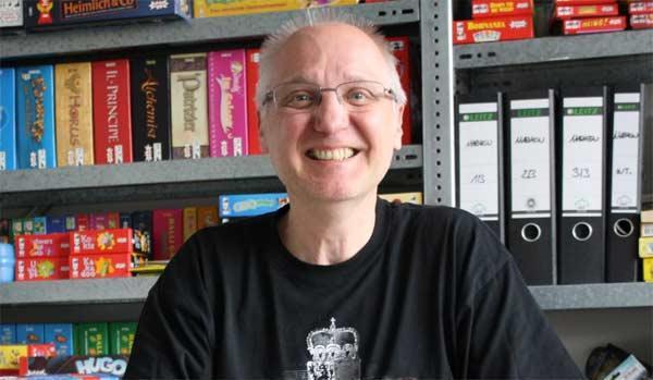 Amigo-Redakteur Uwe Mölter - Foto von Amigo Spiele