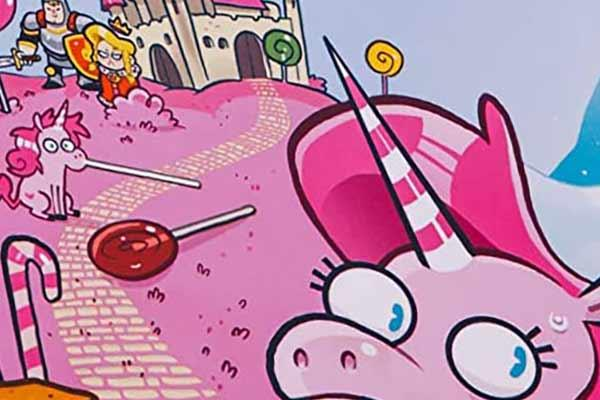 Kill The Unicorns - Ausschnitt - Foto von Blackout Spiele