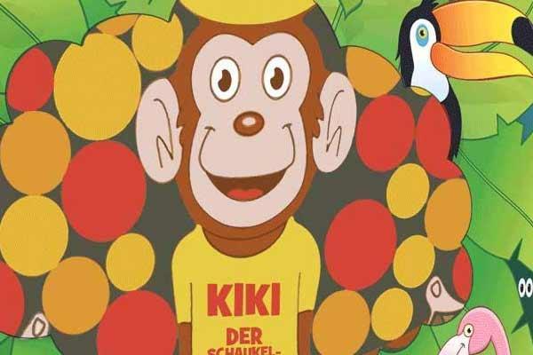 Kiki - der Schaukelaffe - Ausschnitt - Foto von Blue Orange