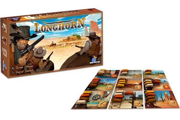 Gesellschaftsspiel Longhorn - Foto von Blue Orange