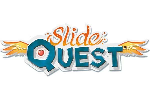 Gesellschaftsspiel Slide Quest - Logo