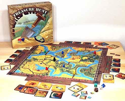 Treasure Hunt ist ein Geocachingspiel