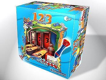 1, 2 oder 3 - Das Spiel - Foto Clementoni