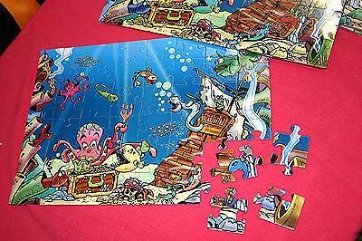 Puzzlespiel Blue von Clicker Spiele
