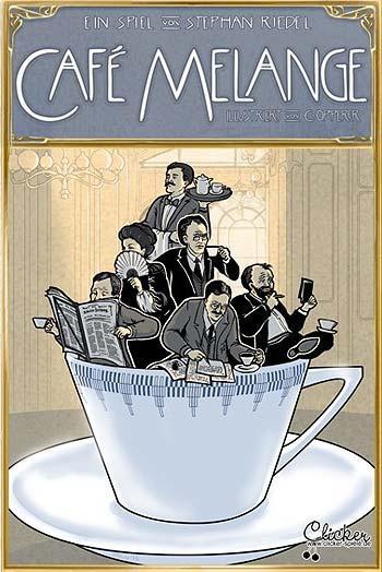 Gesellschaftsspiel Cafe Melange - Foto von Clicker Spiele