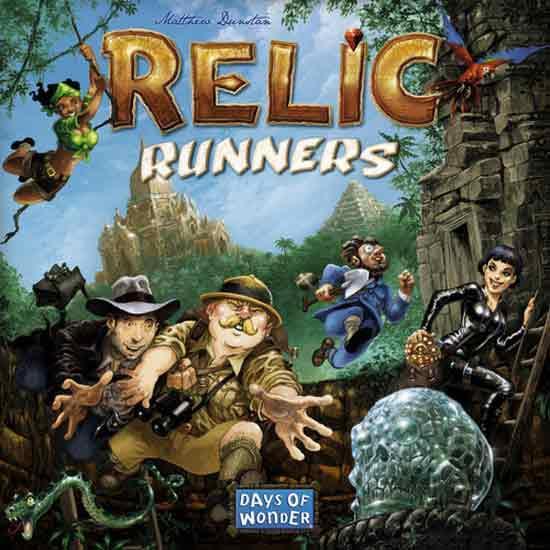 Brettspiel für Abenteurer: Relic Runners - Foto von Days Of Wonder