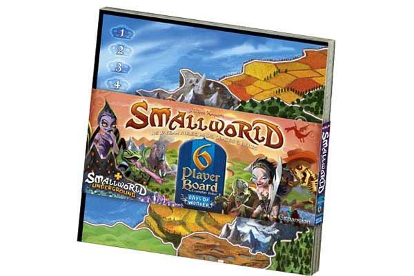 Small World - 6-Spieler-Spielbrett - Foto von Days Of Wonder