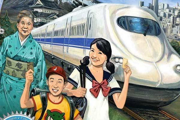 Zug um Zug: Japan & Italien - Ausschnitt - Foto von Days Of Wonder
