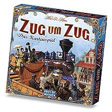 Ticket To Ride - Kartenspiel - Zug um Zug - Foto Days of Wonder