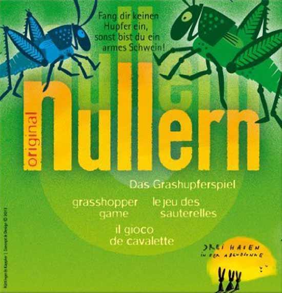 Schachtel von Nullern - Foto Drei Hasen in der Abendsonne