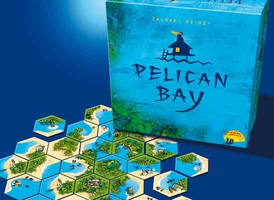 Legespiel Pelican Bay - Foto von Drei Hasen in der Abendsonne