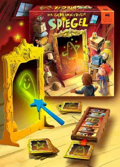 Der geheimnisvolle Spiegel - Foto von Drei Magier Spiele