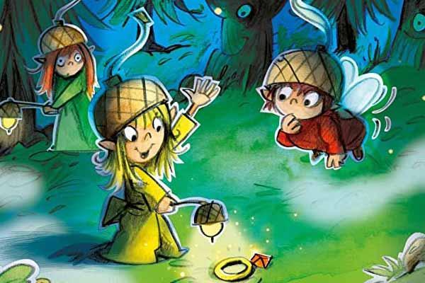 Wald der Lichter - Ausschnitt - Foto von Drei Magier Spiele