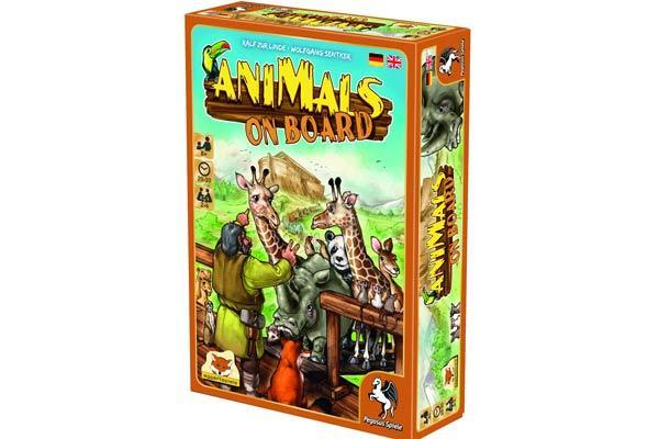 Animals on Board - Spielschachtel - Foto von eggertspiele