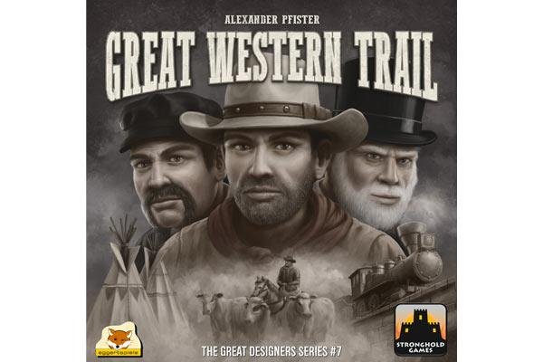 Voraussichtliches Cover Great Western Trail - Foto von eggertspiele