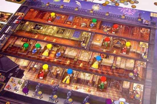 Brettspiel Rokoko eggertspiele-Pegasus - Foto von Axel Bungart