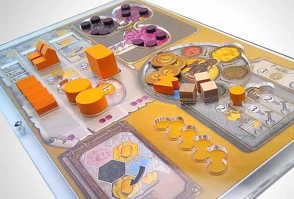 Organisierer für Spielmaterial - Foto von e-Raptor