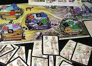 Brettspiel Der Weg nach Drakonia - Foto Reich der Spiele