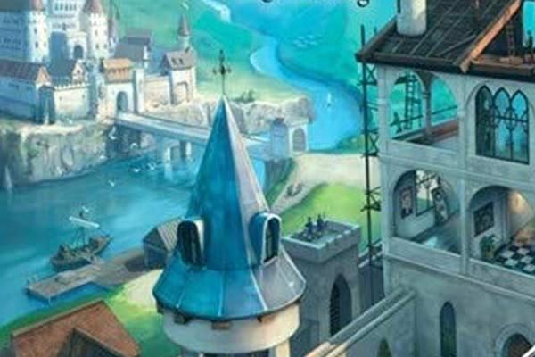 Zwischen zwei Schlössern - Cover-Ausschnitt - Foto von Feuerland Spiele