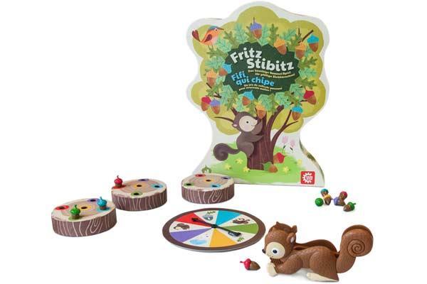 Kinderspiel Fritz Stibitz - Foto von Game Factory