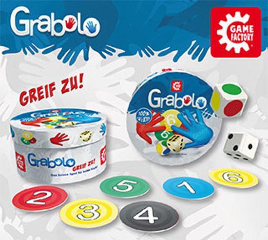 Gesellschaftsspiel Grabolo - Foto: Game Factory