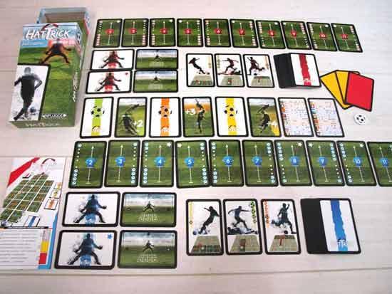 Hat-Trick - Fußballspiel Kartenspiel - Foto von Games Unplugged
