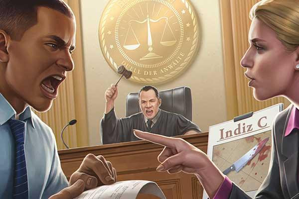 Einspruch! - Duell der Anwälte - Ausschnitt - Foto von Giant Roc