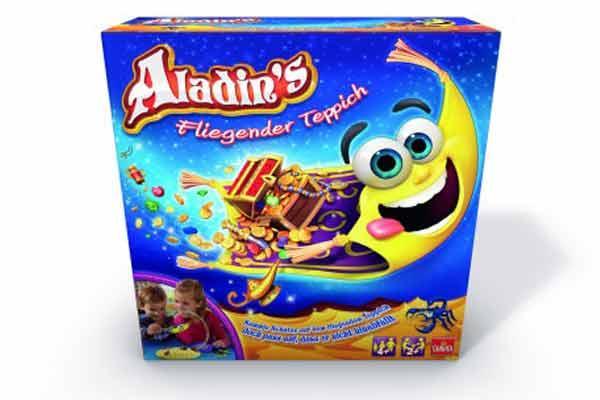 Aladin's fliegender Teppich - Spieleschachtel - Foto von Goliath Toys