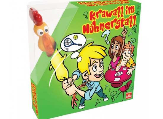 Krawall im Hühnerstall - Foto von Goliath Toys