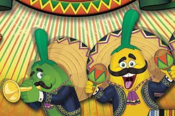 Senor Pepper - Ausschnitt - Foto von Goliath Toys