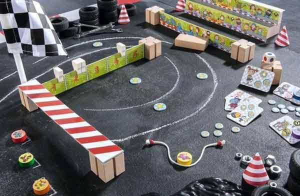 Kinderspiel Crash Cup Karambolage - Foto von Haba