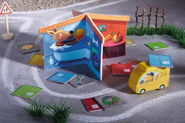 Kinderspiel Die Post ist da - Foto von Haba