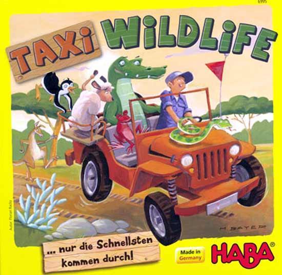 Kinderspiel Taxi Wildlife - Foto von Haba