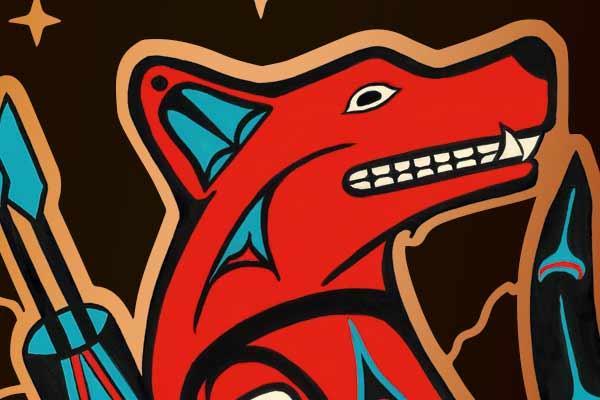 Coyote - Ausschnitt - Foto von Heidelbär
