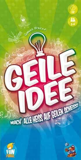 Gesellschaftsspiel Geile Idee - Foto von Heidelberger Spieleverlag