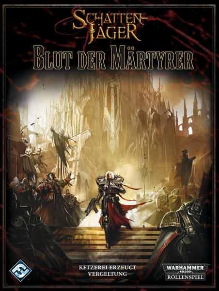 Blut der Märtyrer - Wahrmmaer 40k-Schattenjäger - Foto Heidelberger Spieleverlag