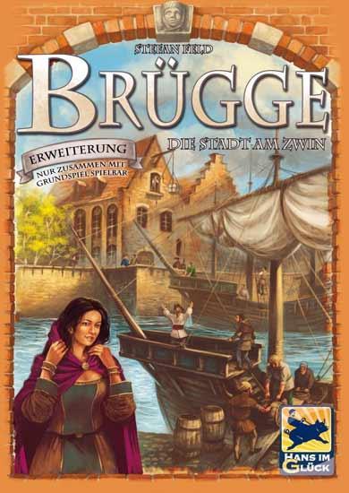 Brettspiel-Erweiterung Brügge - Die Stadt am Zwin - Foto von Hans im Glück