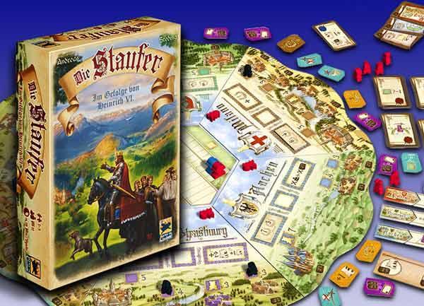 Strategiespiel Die Staufer - Foto von Hans im Glück